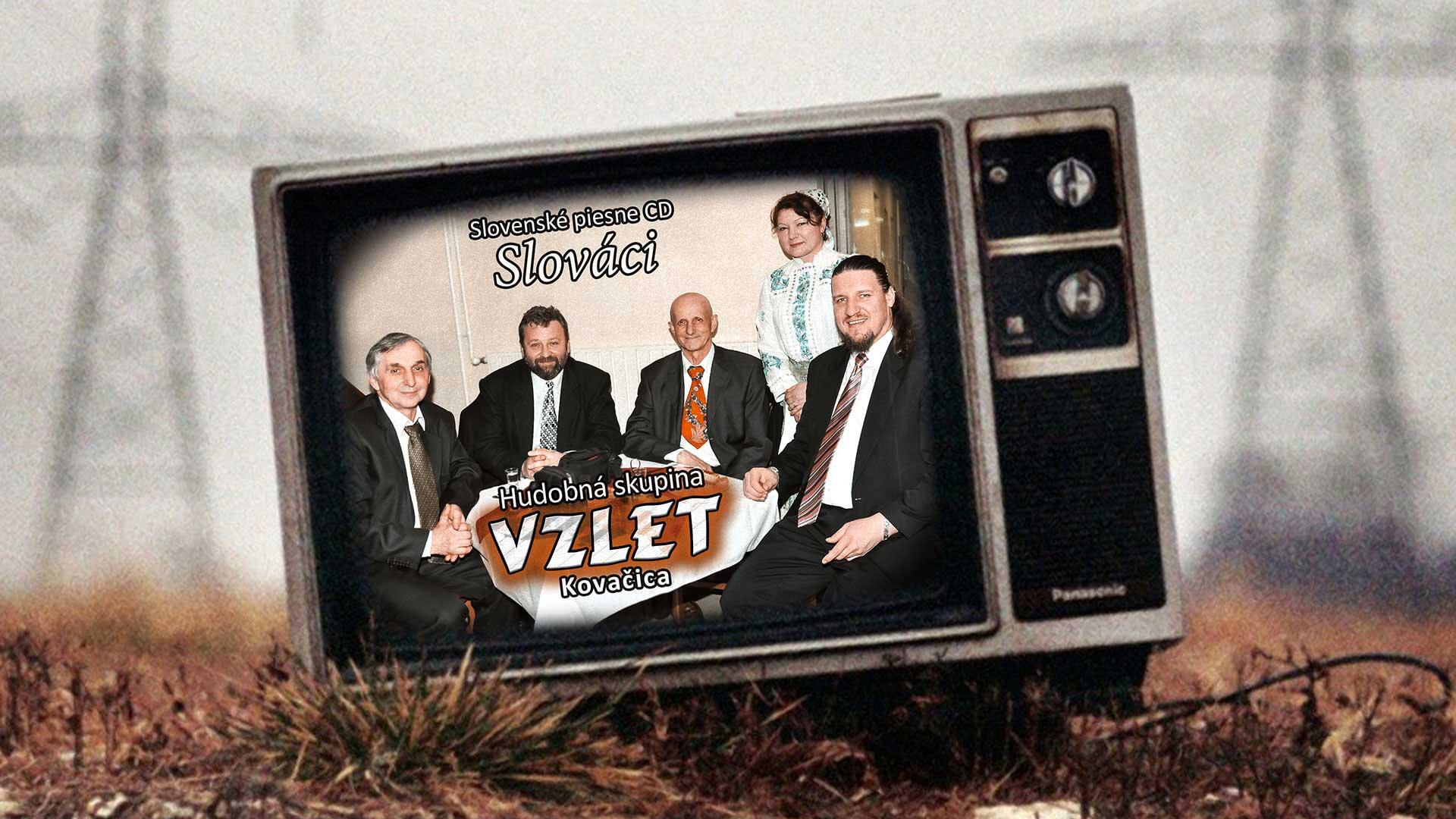 CD – Vzlet – Slováci (2013)