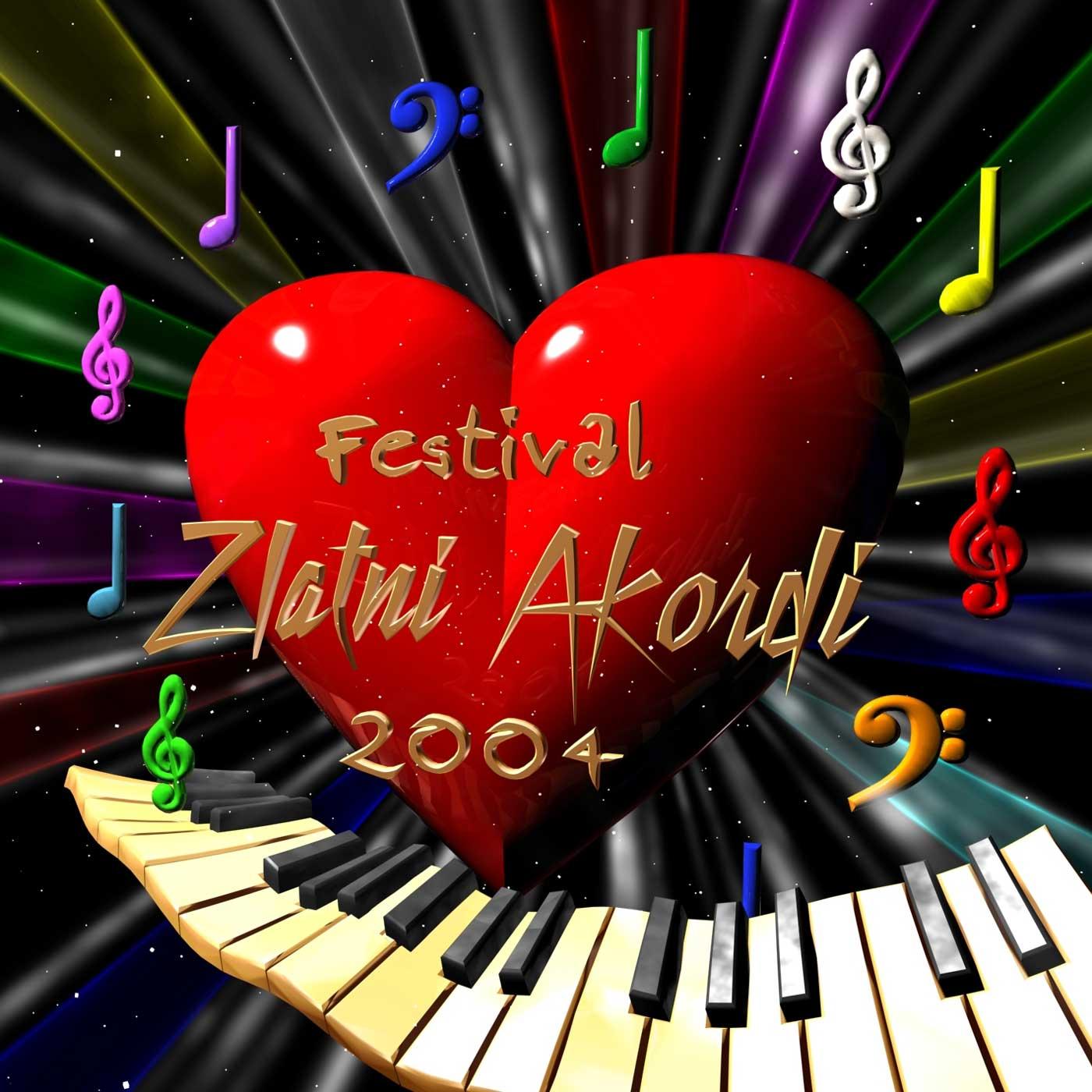 CD – Festival Zlatni Akordi (2004)