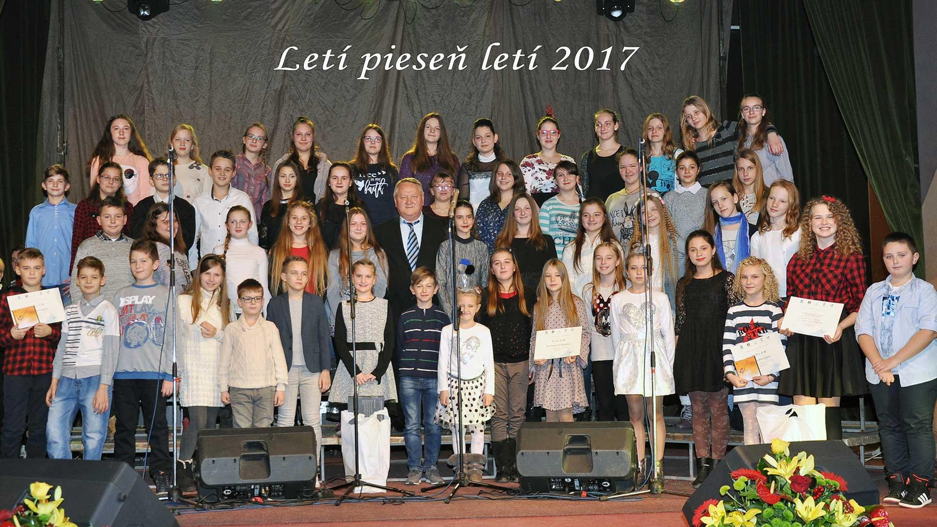 Zbor ZŠ Mladých pokolení Kovačica – Letí pieseň, letí 2017