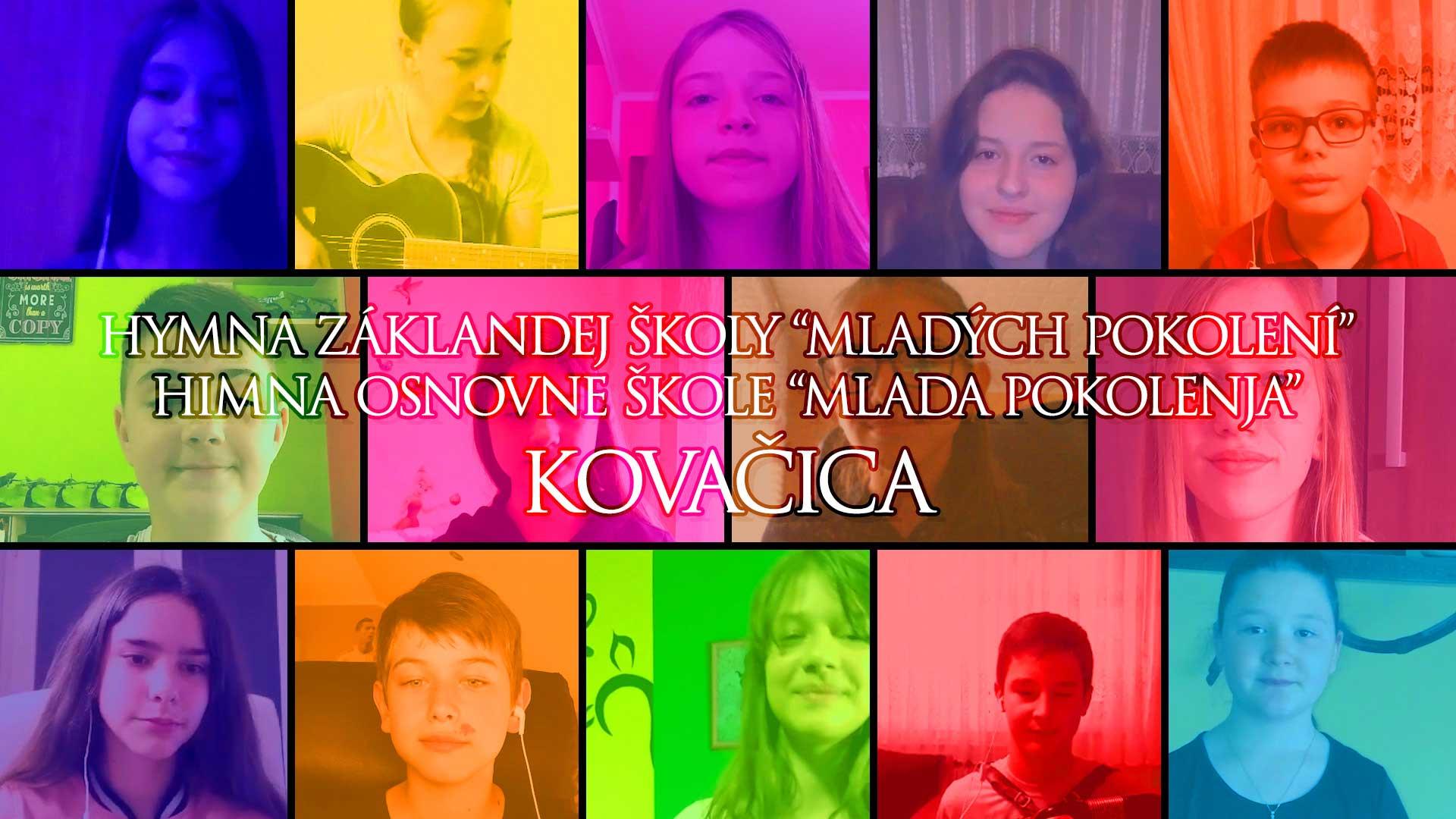 Hymna základnej školy Mladých pokolení Kovačica