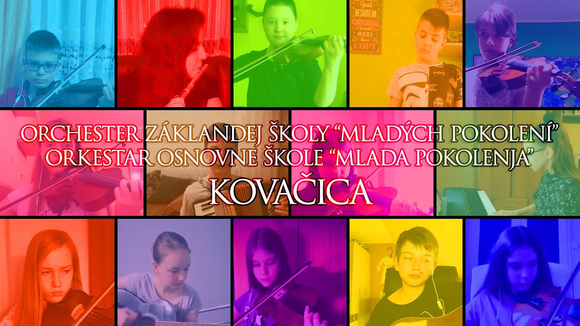 Orkestar Osnovne škole Mlada pokolenja Kovačica – Kad radost i veselja slast (J. S. Bach)